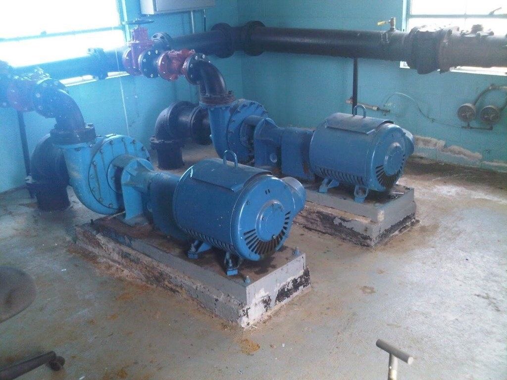 Bearing frame-mounted end-suction centrifugal pumps